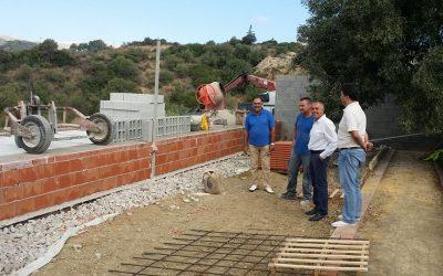 Cien nuevos nichos Cementerio Municipal Manilva