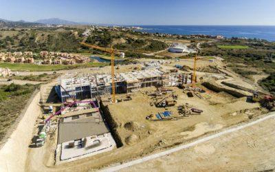 Las obras del nuevo hospital de alta resolución de Estepona
