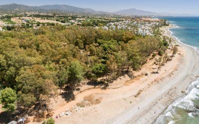 Obra nuevo tramo corredor litoral Estepona
